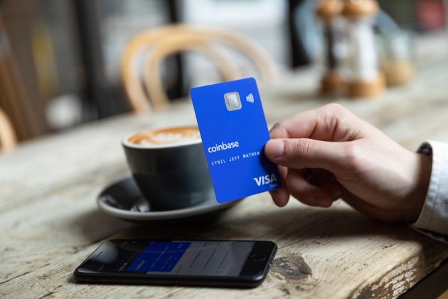 Coinbase launches its cryptocurrency debit card in six more countries in Europe
