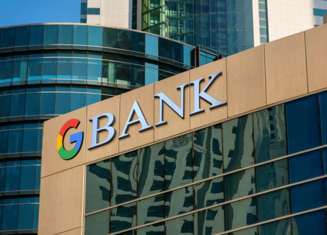 Welcome to the Google Bank – Your Everyday Banking from Google, NOT a Bank.